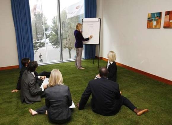 Напольные покрытия: трава под Вашими ногами