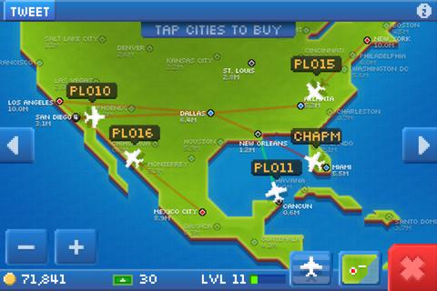 Pocket Planes - новый шедевр на iPhone