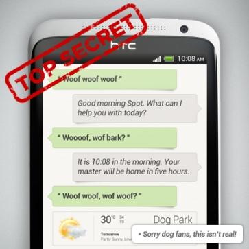 HTC разрабатывает аналог Siri для своих смартфонов
