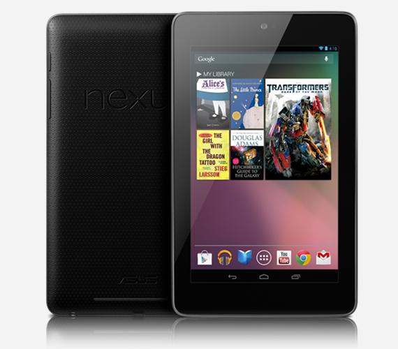 Google представил планшет Nexus 7