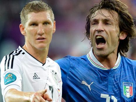 Германия - Италия: стартовые составы