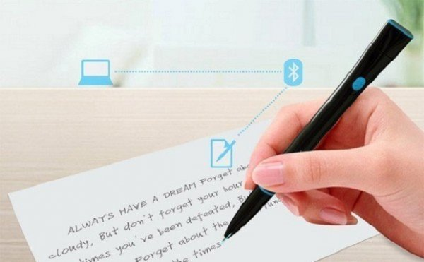 Существует ручка, которая запоминает все, что вы пишете или рисуете