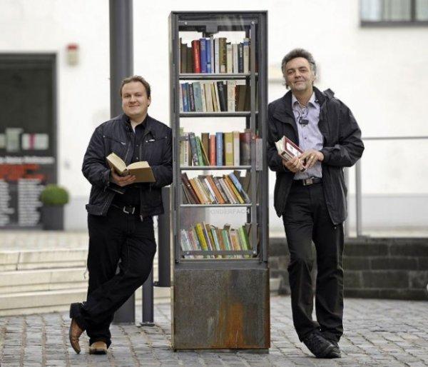 Как в Берлине можно совершенно бесплатно обменять книгу на любую другую?
