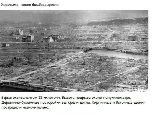 О влиянии Хиросимы на советскую архитектуру.