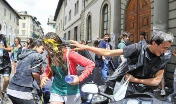 Выпускной в Италии