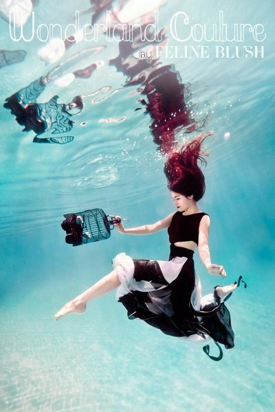 Подводный обман Feline Blush