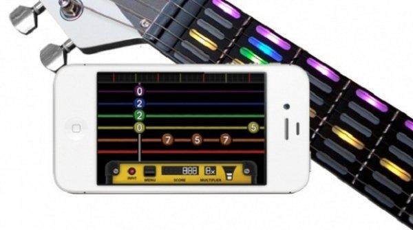 Американские разработчики скрестили гитару с iPhone'ом