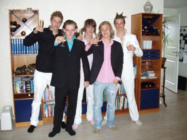 Звезды дискотек из Дании
