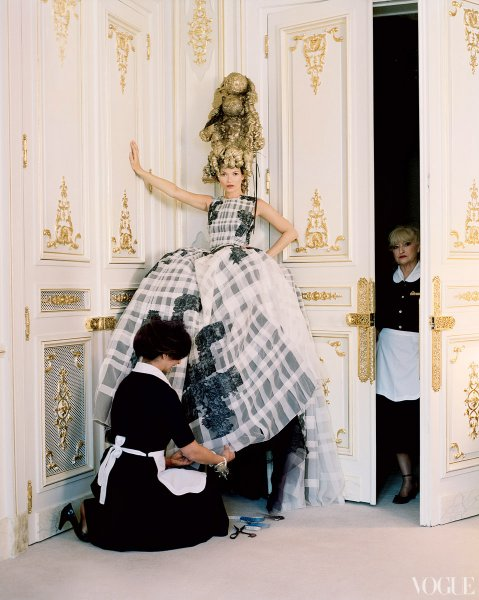 Kate Moss by Tim Walker for the April Issue of Vogue