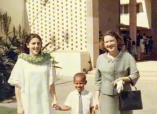 Барак Обама оказывается был ребенком!