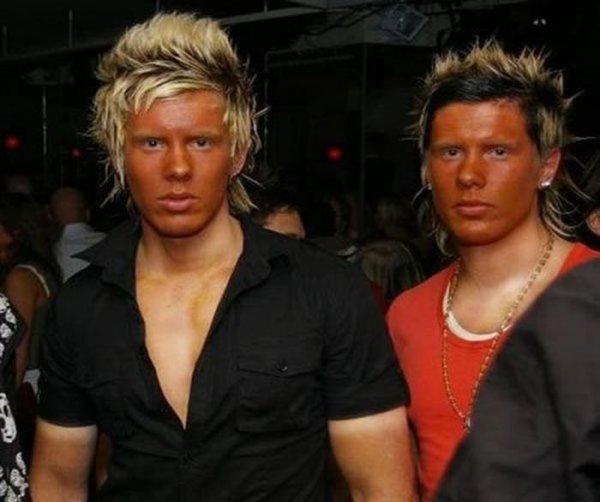 Странные люди на странных фото
