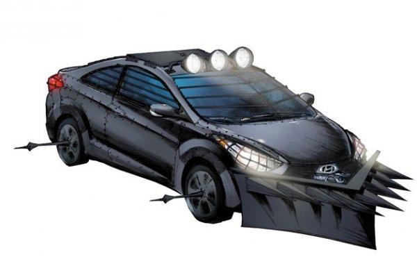"""Hyundai поддерживает """"Ходячих мертвецов"""""""