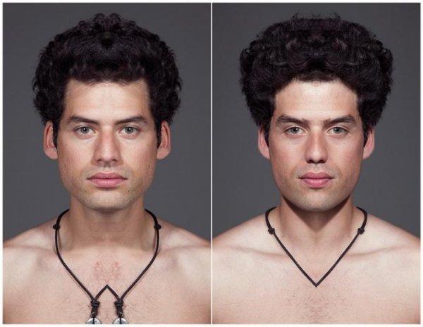 Симметрия лица