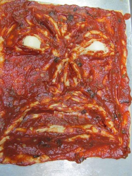 Адская пицца