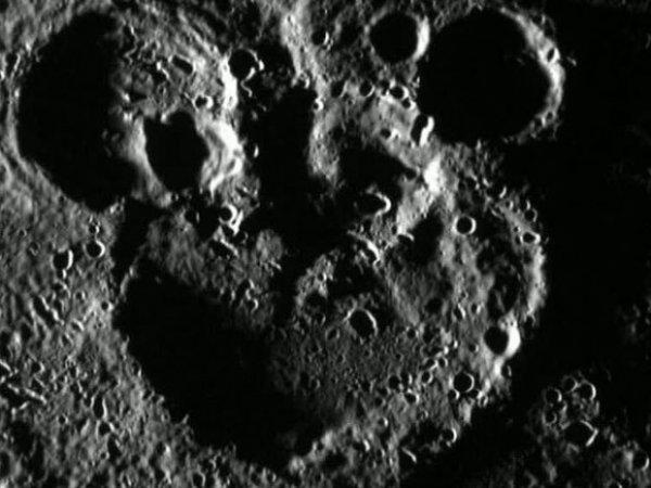 На Меркурии нашли Микки Мауса