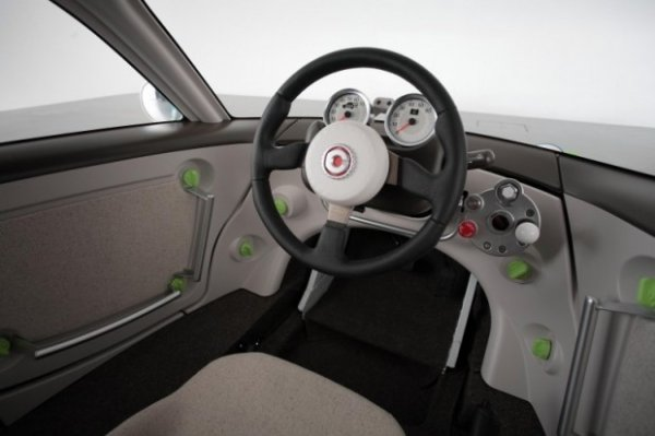 Toyota Camatte — автомобиль, которым могут управлять и дети