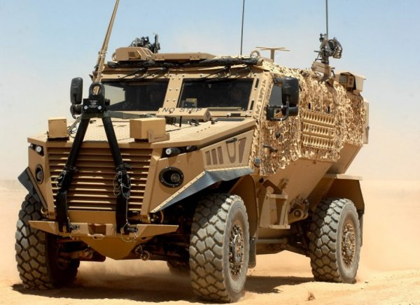 Патрульный автомобиль Foxhound