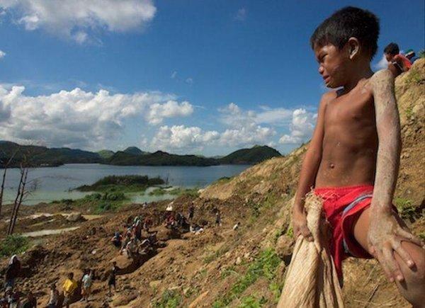 Как добывают золото на Филиппинах
