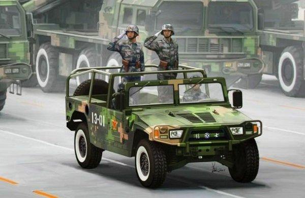 Китай подарил Беларуси 22 копии Hummer.