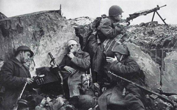 Советский солдат глазами гитлеровцев