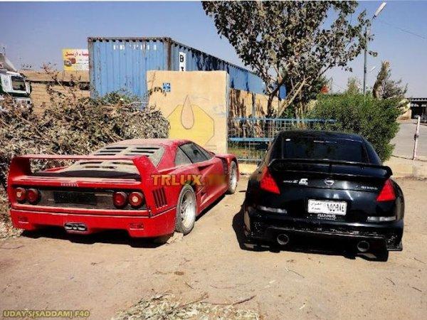 Коллекция машин Удая Хуссейна