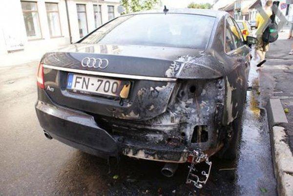 Что случилось с машиной?