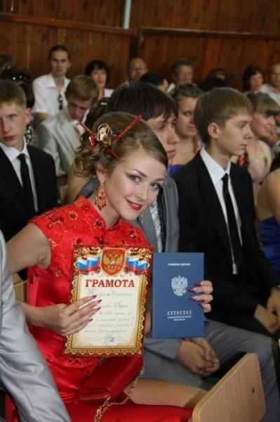 И еще Выпускницы 2012