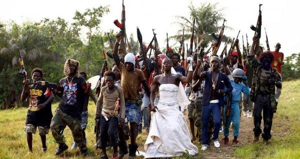 Красивая и стильная свадьба