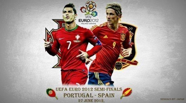 Португалия - Испания: стартовые составы