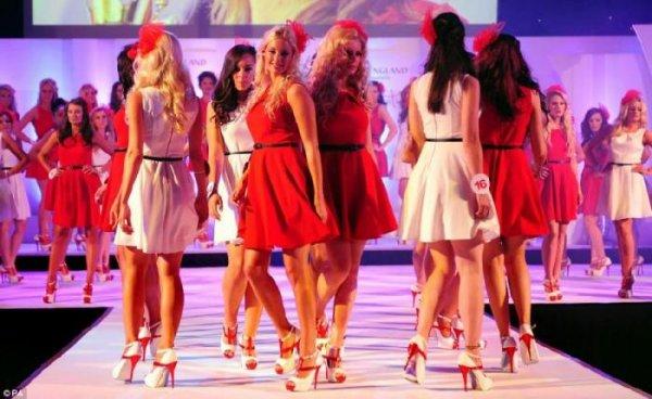 Выбрали Мисс-Англия 2012