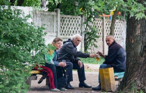 Минская алкашня