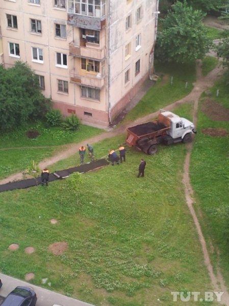 Нанотратуары научились класть в Минске
