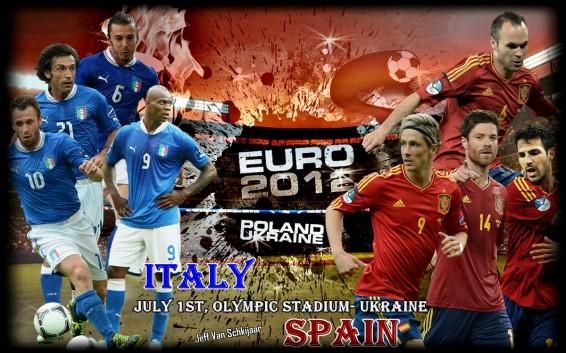 Стали известны стартовые составы Италии и Испании