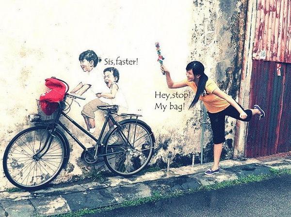 История с велосипедом