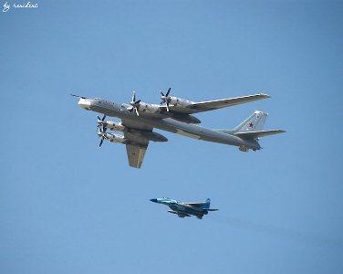 Посадка Ту-95 на американский авианосец (быль)