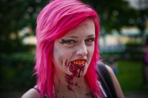 Девушки-зомби