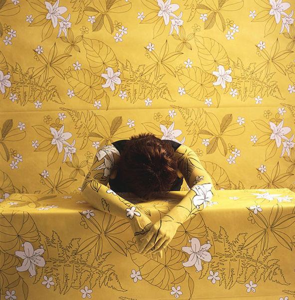 Художественный камуфляж от Селции Паредес