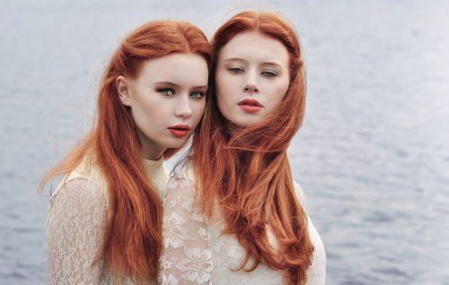 Горячие рыжие девушки