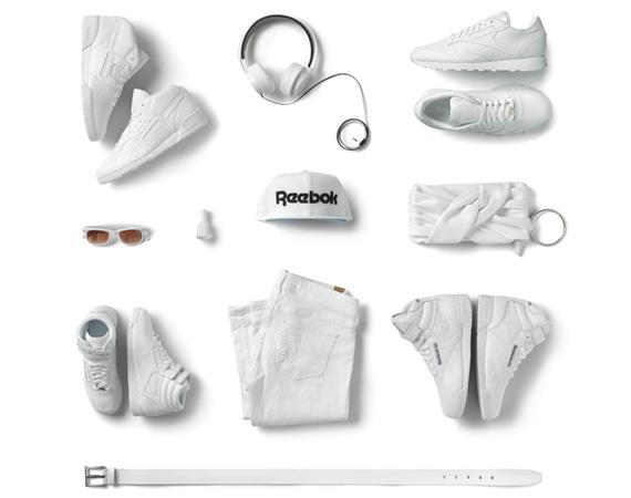 Пак белых вещей от Reebok Classics