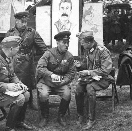 Советско-германский военный парад 1939 года