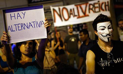 В Испании расстреляли демонстрацию