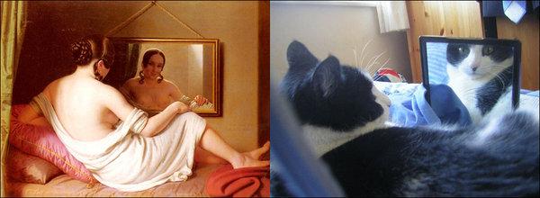 Коты в мировом искусстве