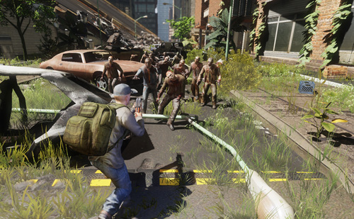 Многопользовательская война с зомби
