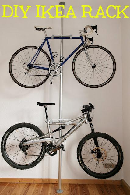 12 идей хранения велосипеда дома
