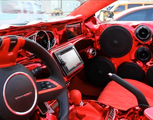 Как изуродовать Camaro SS