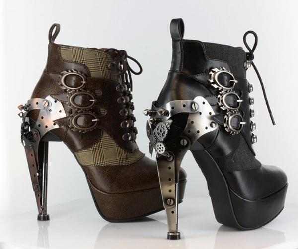 Обувка для стимпанков