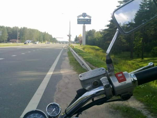 Впечатления байкера из РФ о Минске и Беларуси