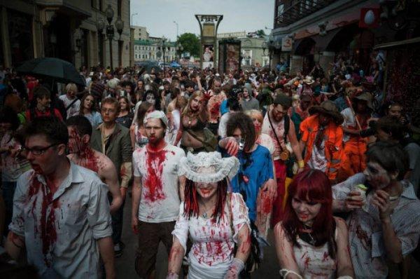 Как разделаться с толпой зомби одним махом?