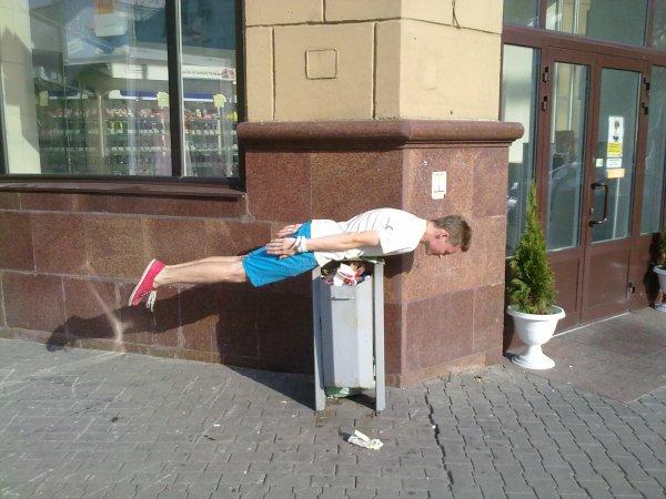 Планкинг в Минске