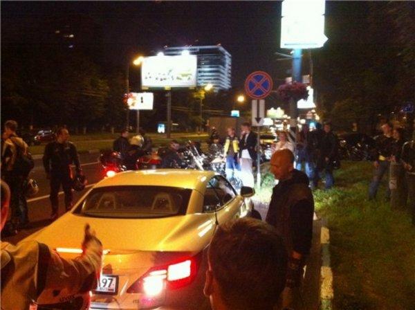 Таксисты vs байкеры